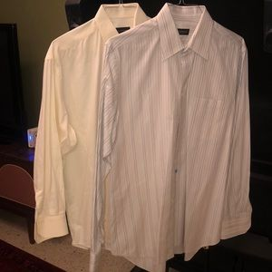 Set of 2 Canali Dress Shirts